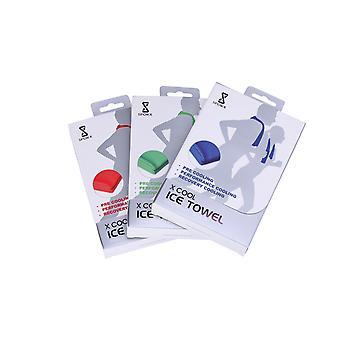 3 paket X cool kylhandduk semesterpaket för sport och utomhusaktiviteter
