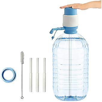 HanFei - Wasserspender für Flaschen, kompatibel mit Flaschen (PET) von 2,5, 3, 5, 6, 8, 10 und 12