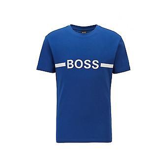 ヒューゴ ボス コットン ブルー Tシャツ
