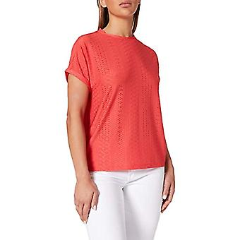 Only ONLIDA S/S O-Neck Top Jrs T-Shirt, Cayenne, L Woman