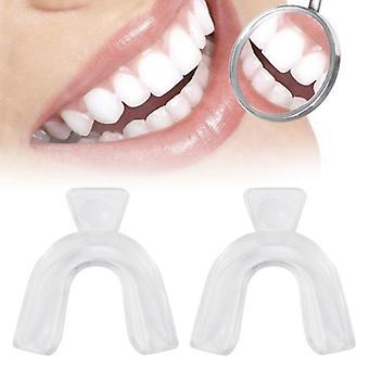 Transparente Thermoforming Dental Mundschutz, Bleichzahnaufheller.
