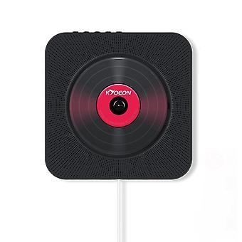 Draagbare cd-speler aan de muur Gemonteerd Bluetooth Home Audio Usb Mp3 Muziekspeler