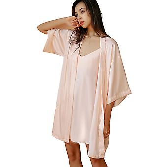 Regenboghorn Sexy Lingerie Nightdress Lace Sling Pajamas SetsRobe Sleepwear P5008