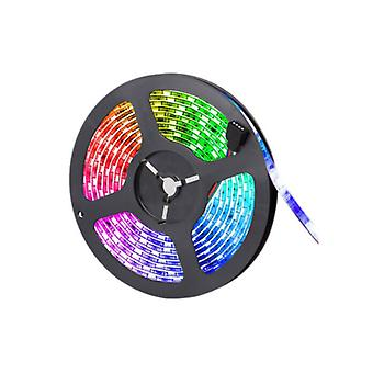 IRリモートで15M RGB 3528 LEDストリップライトの色が変わる 電源