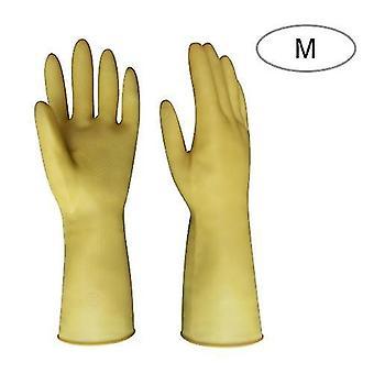 Οικιακά γάντια καθαρισμού πιάτο πλύσιμο κουζίνα γάντι μακριά μανίκια παχύ λατέξ γάντι εργασίας ζωγραφική