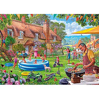 Gibsons Summer Days Jigsaw Puzzle (1000 Pieces)
