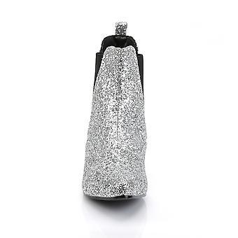 Funtasma Apparel & Accessoires > Costumes & Accessoires > Bottes costume > Mens CHELSEA-58G Slv Glitter