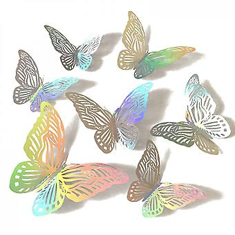 12 Butterfly Wall Decoration Background Wall Stickers