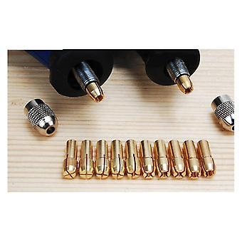 Электрический шлифовальный медный патрон, головные аксессуары