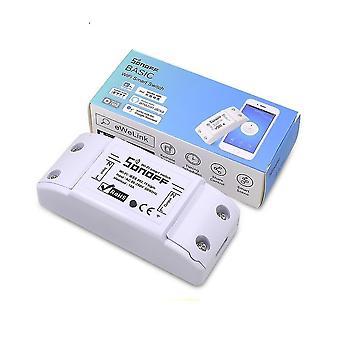 Комплекты домашней автоматизации sonoff базовый беспроводной Wi-Fi переключатель дистанционного управления модуль автоматизации diy таймер