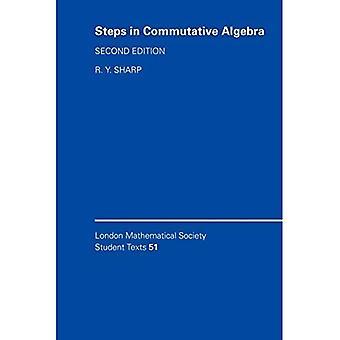 Steps in Commutative Algebra (London Mathematical Society Student Texts)