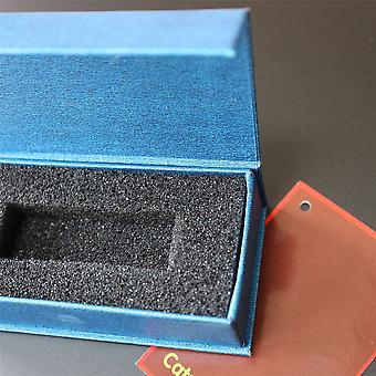 3 x Magnetische USB-presentatiegeschenkdozen, Blauw