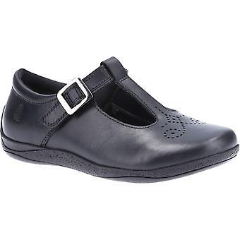 Hush puppies kid's eliza senior school shoe black 32590