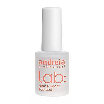 Esmalte de uñas Lab Andreia Shine Boost Top Coat (10,5 ml)