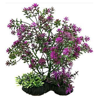 "Penn Plax Bonsai Plant 7-8"" Purple - 1 count"