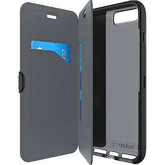 Tech21 Evo FlexShock Wallet Case for iPhone 8 Plus/7 Plus - Black