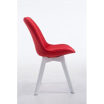 Esszimmerstuhl - Esszimmerstühle - Küchenstuhl - Esszimmerstuhl - Modern - Rot - Holz - 48 cm x 55 cm x 84 cm