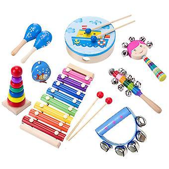Jouets pour enfants Instruments de percussion en bois