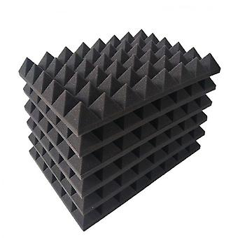 Panneaux de mousse acoustiques insonorisés 12pcs pour studio d'enregistrement