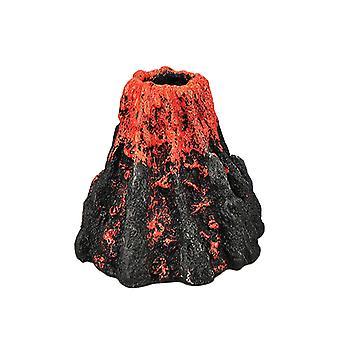 Аквариум Вулкан Форма и воздух Пузырь Камень Кислородный насос Аквариум Орнамент Декор