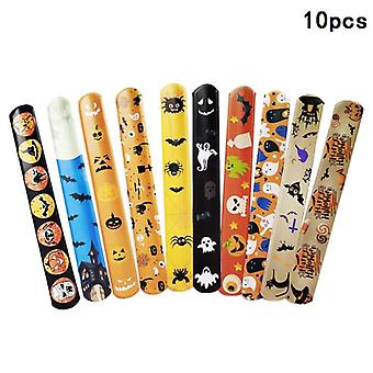Bracelet Slippery Ghougate To Halloween Gift Cartoon Pumpkins Happy Halloween Party 5pcs / 10pcs (random Delivery)