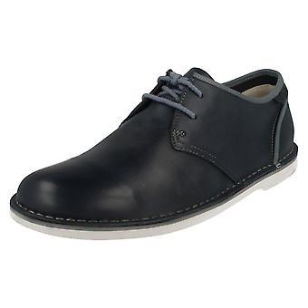 Mens Clarks Casual Lace Up schoenen Marden Grove