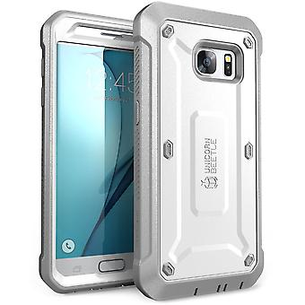 Samsung Galaxy S7 Case, Supcase, Unicorn Beetle Pro, Full Body Case, Galaxy S7 Case, S7 case-White/Gray