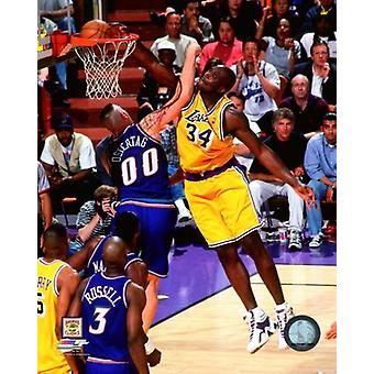Shaquille ONeal 1997-98 Action Photo Print