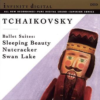 P.I. Tjajkovskij - Tjajkovskij: Törnrosa; Nötknäpparen; Svansjön [CD] USA import