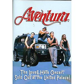 Aventura - Love & Hate Concert Sold Out at the United Palace [DVD] USA import