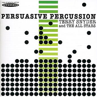 Snyder, Terry les All Stars - importation USA persuasif Percussion [CD]