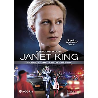 Janet King: Series 2 - the Invisible Wound [DVD] USA import