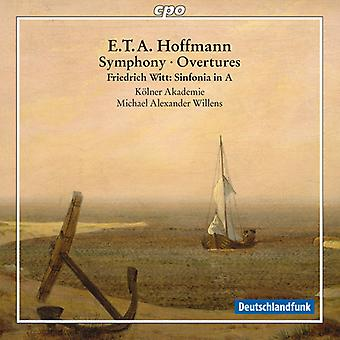 Hoffmann / Witt / Willens / Cologne Academy - Sym Ovtrs [CD] USA import