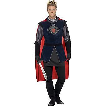 King Arthur King King kostium mens strój zestaw 5 sztuk