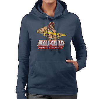 Man de kind zoon van Zorn vrouwen Hooded Sweatshirt