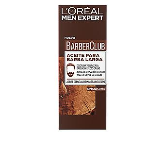 L ' Oréal Men Expert Kapper Club Aceite Barba Larga make-up 30 Ml voor mannen