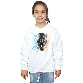 Marvel piger sort panter Splash Sweatshirt