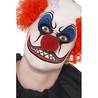 Clown make-up Kit bevat kleur neus vet potloden en spons