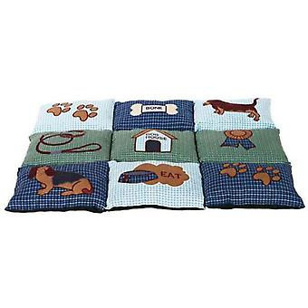 Trixie Patchwork blanket Blue-Green (Dogs , Bedding , Blankets and Mats)