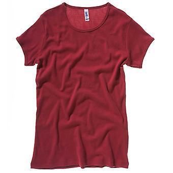 Bella Canvas Ladies Baby rib short sleeve crew neck T-shirt