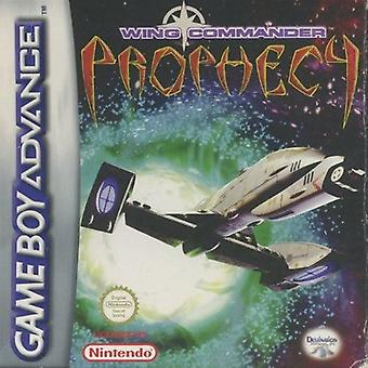 Jeu de commandant de l'Escadre prophétie GBA (Gameboy Advance)