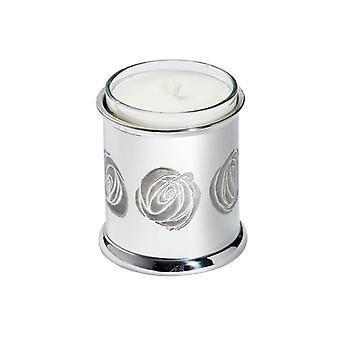 Charles Rennie Mackintosh Pewter Candle Votive