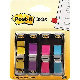 Post-it Sticky marking 7000052572 4 pads/pack Yellow, Purple, Pink, Turquoise