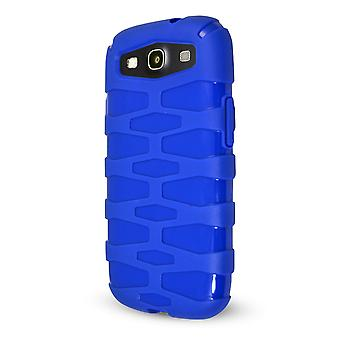 Technocel Rugged Slider Skin Case Cover for Samsung Galaxy S3 (Pebble Blue) - SAL710SSRPB-Z