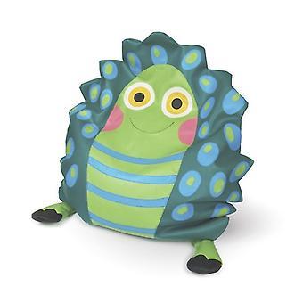 Barn-fåtölj Oj ny soffa vänner-sköldpadda