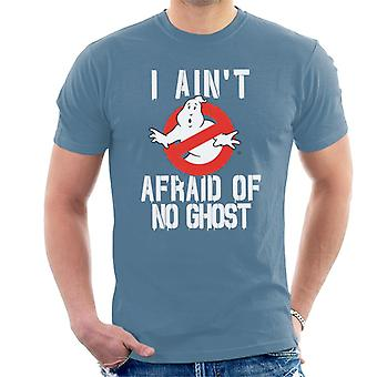 Ghostbusters No Ghost Logo I Aint Afraid Men's T-Shirt