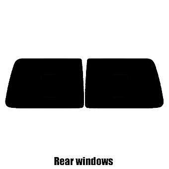 Pre cut window tint - Mini Clubvan Van - 2008 to 2014 - Rear windows