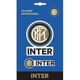 Inter Milan autocollant Set