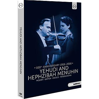 Yehudi Menuhin - importación de Estados Unidos Hephzibah y Yehudi Menuhin [DVD]