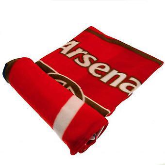 Арсенал ФК флисовой одеяло
